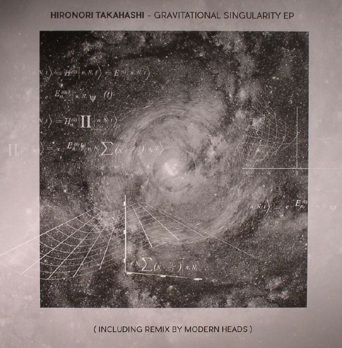 The artwork for the vinyl release of: Hironori Takahashi - Gravitational Singularity EP (Seance) #music Techno