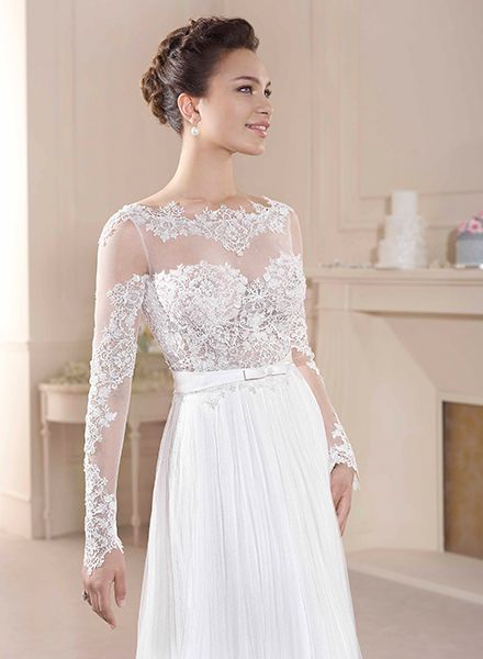 Novia D'Art Claudia gown available in Australia through Peter Trends Bridal