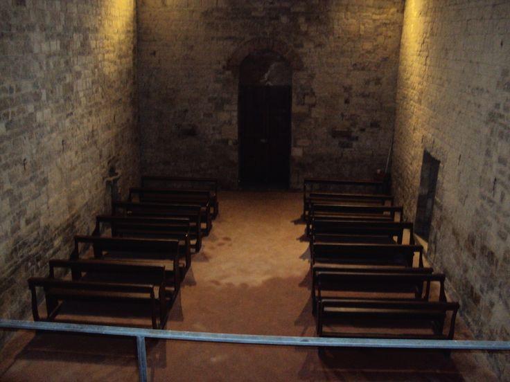 Veduta dall'Altare della Pieve di San Pancrazio