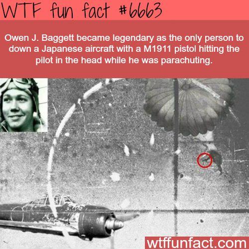 Owen J. Baggett - WTF fun fact