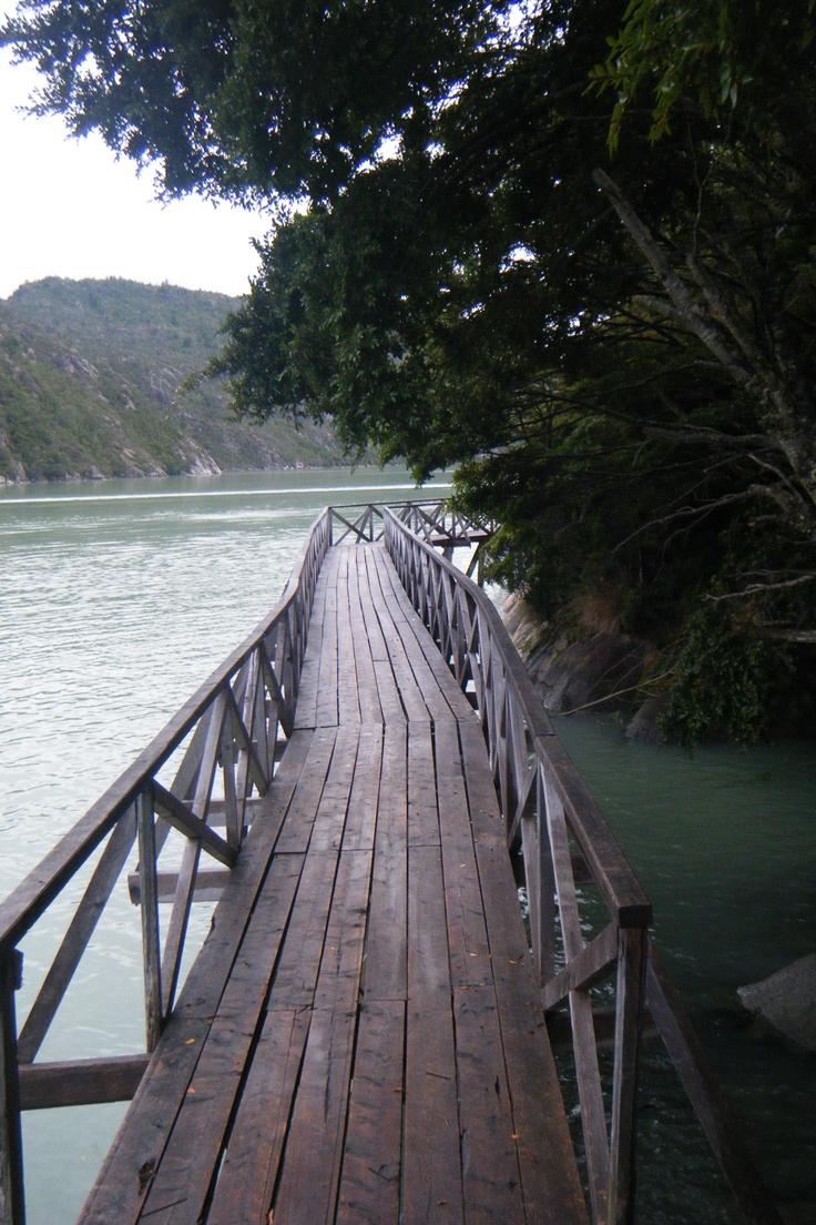 Caleta Tortel, Chile.