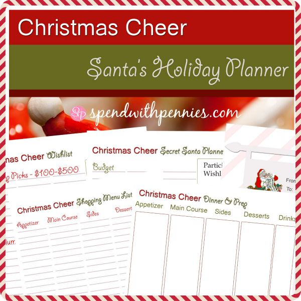 72 best Christmas Planning images on Pinterest Christmas - free printable christmas lists