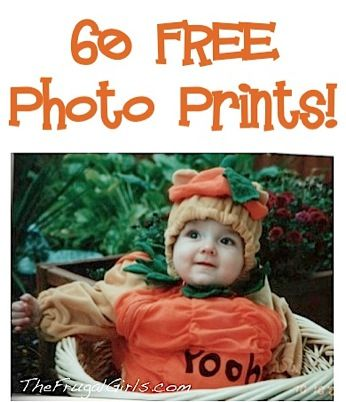 60 FREE Photo Prints! {just pay s/h}