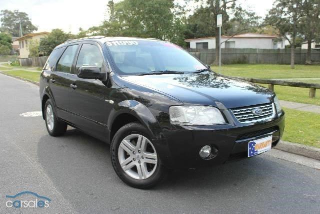 2004 Ford Territory Ghia Sports Automatic All Wheel Drive