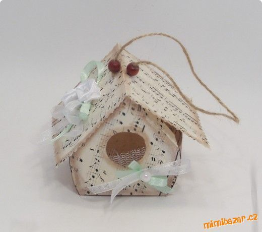 1000 images about diy christmas birdhouses on pinterest Wine cork birdhouse instructions