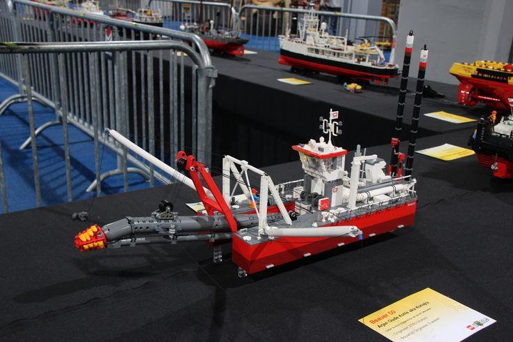 LW224-ships Konajra IHC Beaver 50 Cutter Suction Dredger