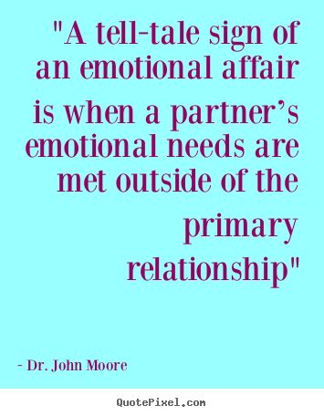 An emotional affair is when a partner's emotional needs are met outside of the primary relationship.  If you are sharing more details about your life with someone who isn't your spouse or partner, than you do with your spouse/partner, you might be engaged in an emotional affair.  If you have problems with your spouse or partner (which we ALL do), communicate those issues with your spouse/partner.