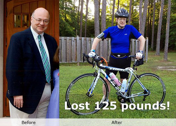 Steve lost 125 lbs! Read his story. | MyFoodDiary.com
