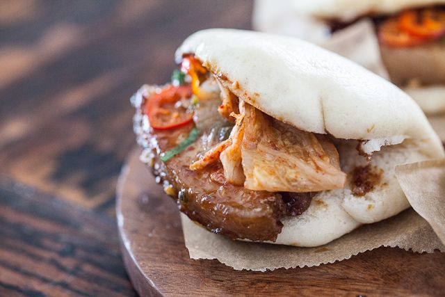 Caramelized Pork Belly Buns Recipe — Dishmaps