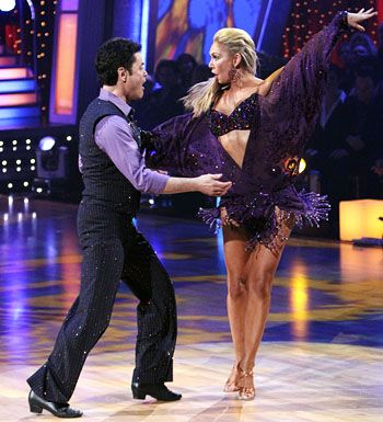 Kym Johnson & Donny Osmond's Samba.