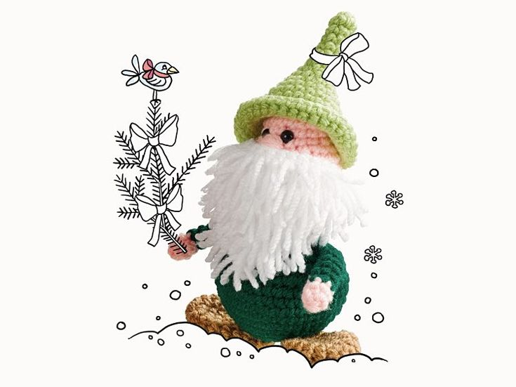 799 best amigurumi gnom hexe usw images on Pinterest   Amigurumi ...