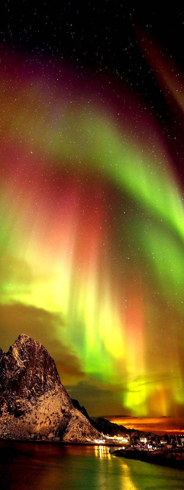 HEALING & ACTIVATING POWER OF NATURE Northern Lights, Norway, majick happening before your eyes.