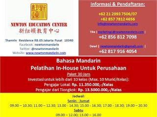 newtonmandarin.com: Kabar Terbaru: Dibuka Kelas Pelatihan Bahasa Manda...