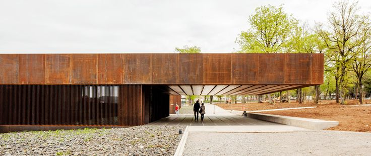 RCR Arquitectes  - 博物馆苏拉吉,罗德兹2014张照片(C)凯文Dolmaire,佩普秀。