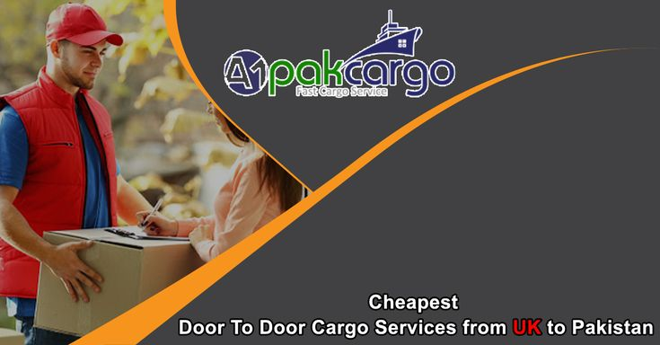 Cheapest Door To Door Cargo Services from UK to Pakistan  A1pakcargo has highly professional and dedicated staff in UK or Pakistan as well. Which perform their duties honestly and made door to door cargo our success able service. Due to our online service......