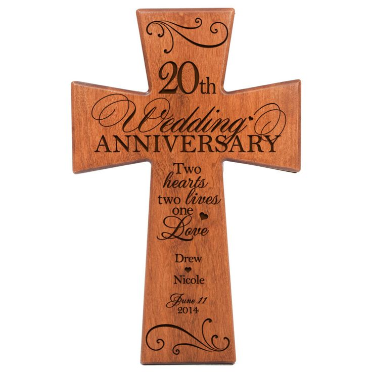 Personalized 20th Wedding Anniversary 20th Anniversary
