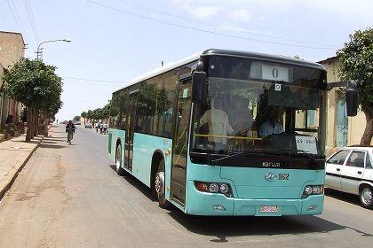 Asmara Eritrea - Public transport
