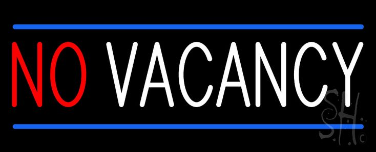 No Vacancy Animated Neon Sign 13 Tall x 32 Wide x 3 Deep, is 100% Handcrafted with Real Glass Tube Neon Sign. !!! Made in USA !!!  Colors on the sign are Red, White and Blue. No Vacancy Animated Neon Sign is high impact, eye catching, real glass tube neon sign. This characteristic glow can attract customers like nothing else, virtually burning your identity into the minds of potential and future customers.