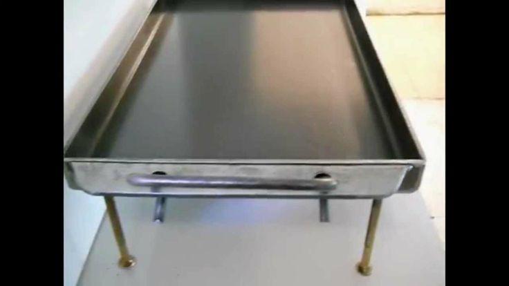 Chapas Tass - Chapa para Cocinar 30cm x 50cm + Tapa