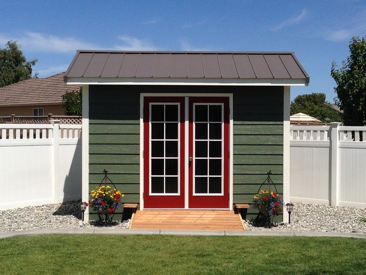 Home office shed custom storage shed pictures.