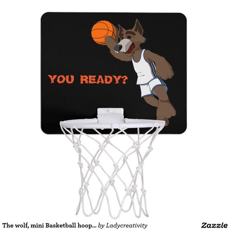 The wolf, mini Basketball hoop/goal Mini Basketball Backboard
