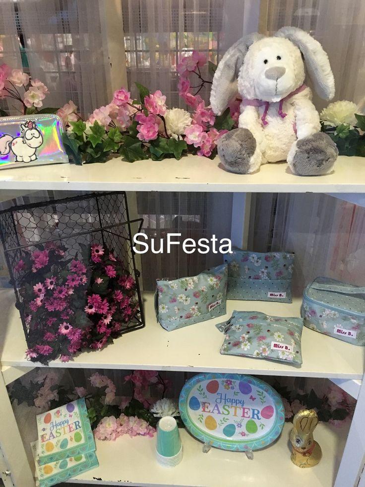 Montra de Páscoa com primavera nossa loja da SuFesta - Silveira