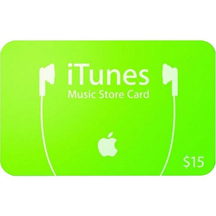 Apple itunes prepaid card 15 see this great product