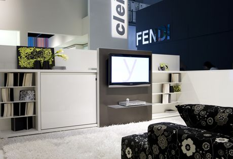 Transformable TV Unit with Bed - Poppi Theatre from Clei