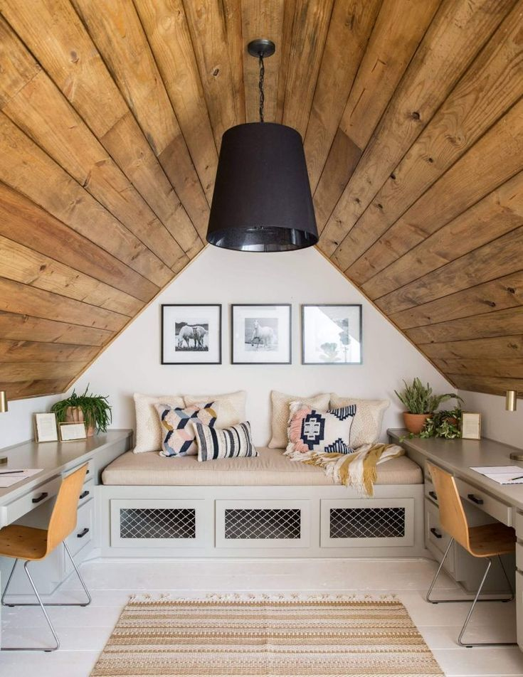 16 Amazing Attic Room Ideas To Create An Extraordinary Attic In 2020 Attic Living Rooms Attic Rooms Attic Bedroom Small