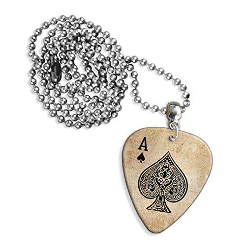 Ace Of Spades Card Casino Gitarre Plektrum Pick Halskette Necklace (GD) GD Picks http://www.amazon.de/dp/B00LJC0CNI/ref=cm_sw_r_pi_dp_jJ20ub0TWK0Y9