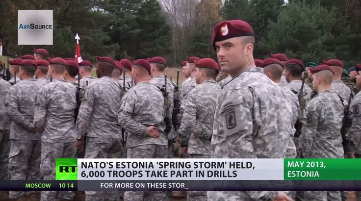 'Spring Storm': NATO masses troops, hardware in Baltics to stage huge wa...