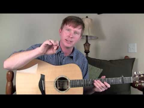 Red Haired Boy on Guitar Free Bluegrass Flatpicking Lesson
