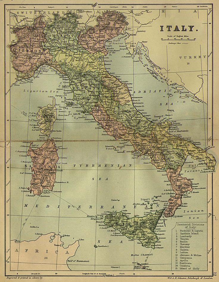 vintage pics italians | Historical Maps