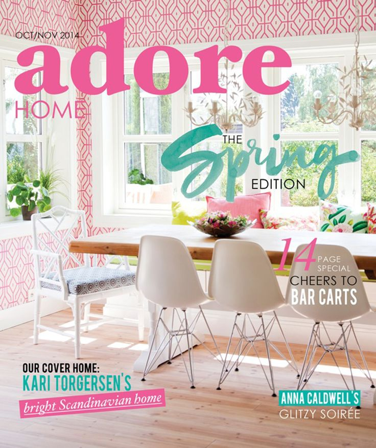Society Social makes an appearance in the Oct/Nov issue of Adore Home Magazine!