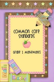 1st Grade Common Core Standards