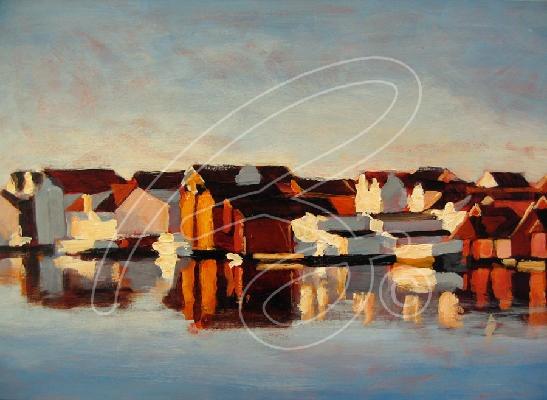 Brian Wallace   Galleri, #landscape #boathouses #maritime