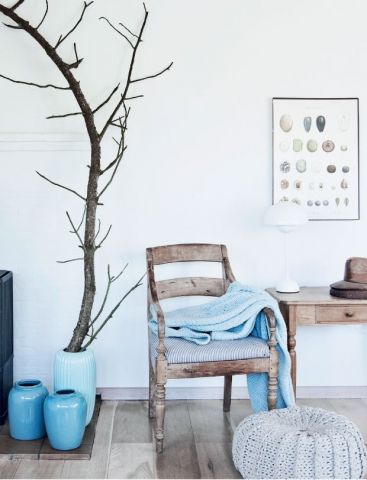 Zomers blauw in je interieur