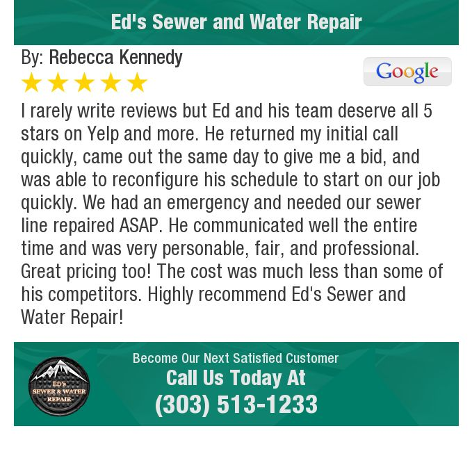 I Rarely Write Reviews But Ed And His Team Deserve All 5 Stars On Yelp And More He Writing Give It To Me Sewer