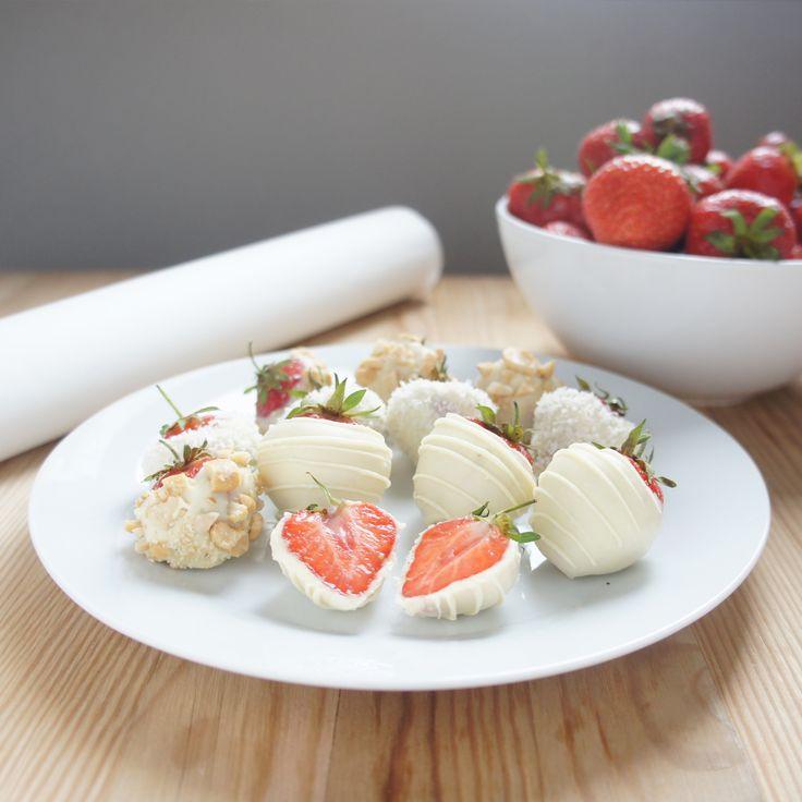 www.choco-berry.com клубника в белом шоколаде
