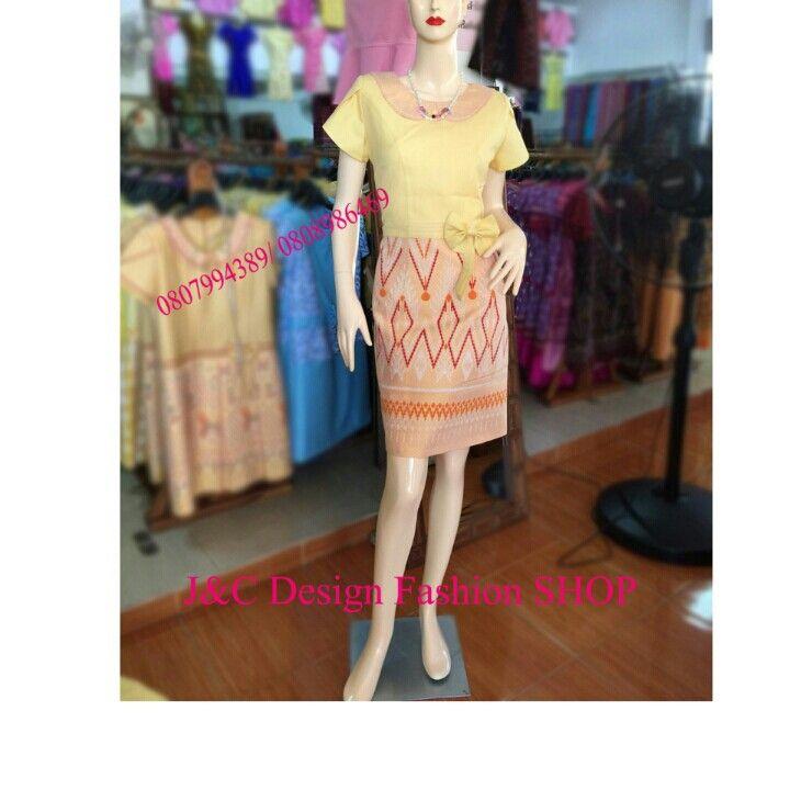 ชุดผ้าไทย ชุดผ้าไทยฝ้ายแพรทอง ชุดผ้าไทยผ้าพื้นเมือง ชุดผ้าไทยฝ้ายแพรทองแต่งลายลายมัดหมี่ ชุดทำงานผ้าไทยเอวแต่งโบว์สีเหลือง♥  PRODUCT ID: PT 700  Piece : 870  B. จัดส่งทั่วประเทศค่ะ  ผ้า:ผ้าฝ้าย เอกลักษณ์เมืองบุรีรัมย์  สี:เหลือง ตามภาพ
