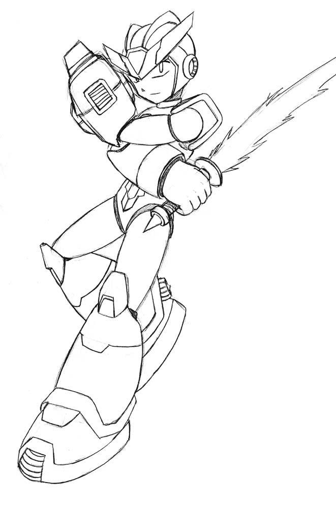 Dibujos Para Colorear De Megaman X Dibujos Para Colorear Dibujos Libros Para Colorear