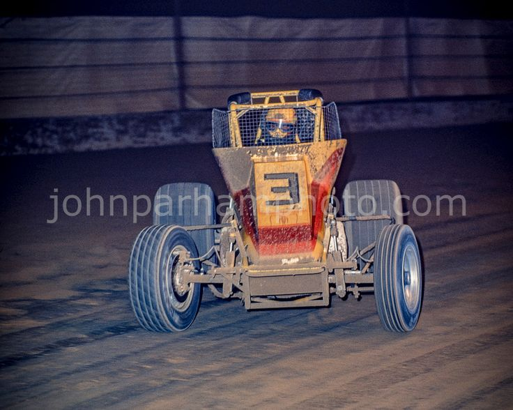 Jack Hewitt USAC Champ Dirt at the Indianapolis Fairgrounds mile