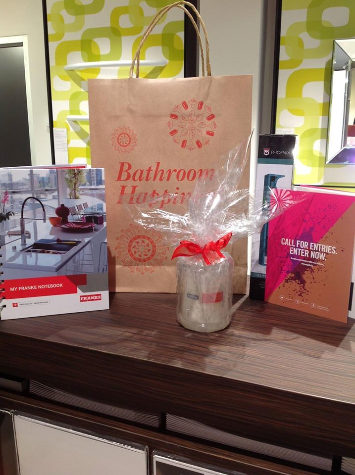 Reece Bathroom Life gift bags #reece #eventgiftbags #candle