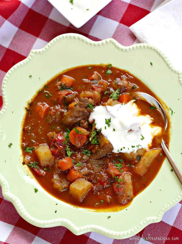 Authentic Hungarian Goulash Gluten Free Only Gluten Free Recipes Recipe Goulash Recipes Hungarian Recipes