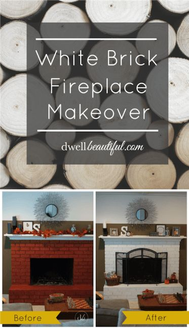 Make your gorgeous brick fireplace the focal point of your home with this DIY white brick fireplace makeover from Erica, of Dwell Beautiful. Erica used Ultra Pure White to give her fireplace a clean, modern look. Click here to check out her easy tutorial and see how you can get this look in your own home.