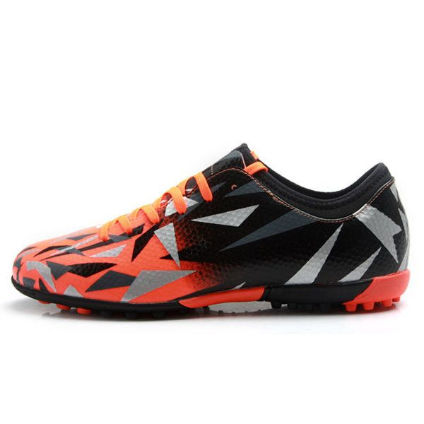 Tiebao Boys Outdoor Breathable Firm-Ground Soccer Training Shoes