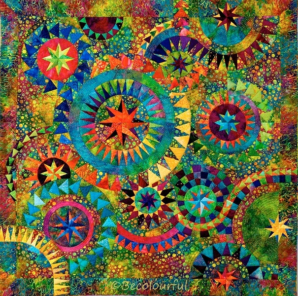 Colorful Quilt -  ©becolourful - Jacqueline de Jonge