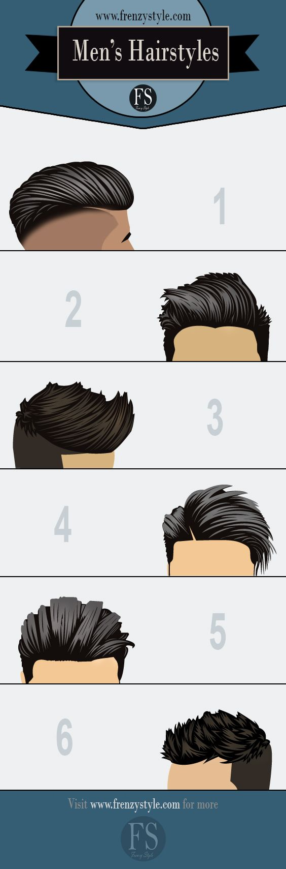6 Popular Men's Hairstyles and Haircuts and the products used to make them