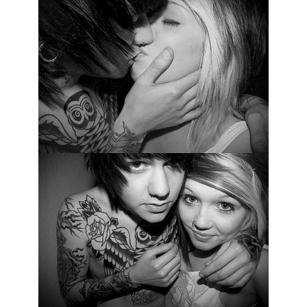 cute scene couple | Tumblr ❤ liked on Polyvore featuring couples, cute couples, people, pictures and love