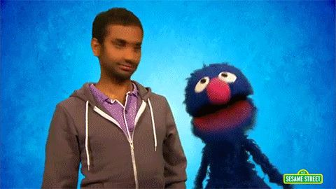 When he and Grover explained the meaning of the word ridiculous: | 13 Times Aziz Ansari Showed Us How To Live Life To The Fullest